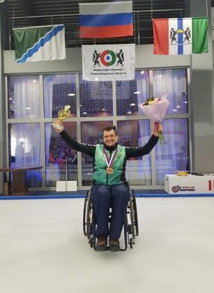 Бронзовые медали на Чемпионате России по керлингу получила команда Спортивного клуба «Адамант»